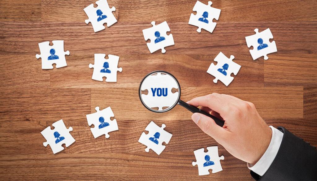 Individuelles Marketing wird immer wichtiger. Schauen Sie sich Ihre Kunden genau an.