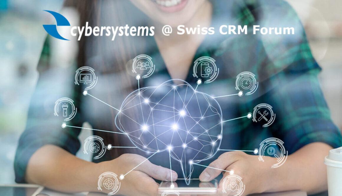 Cybersystems @ Swiss CRM Forum