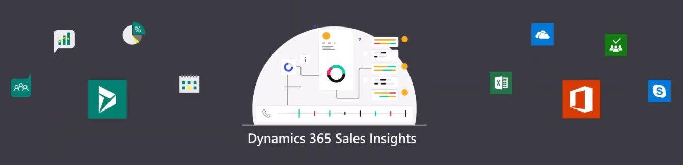 Daten aus Dynamics 365 und Office 365 fliessen in Sales Insights zusammen