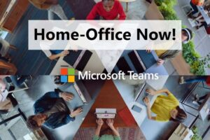 Microsoft Teams Home-Office