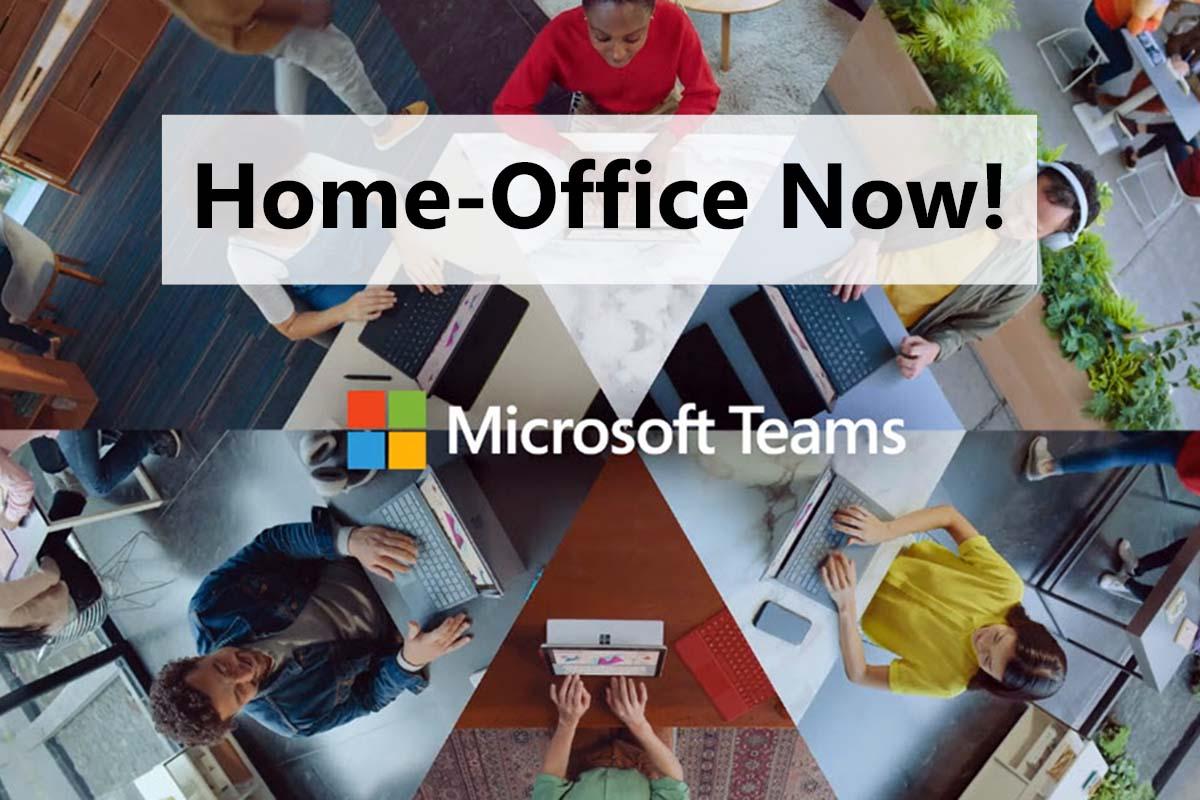 Microsoft Teams Home-Office