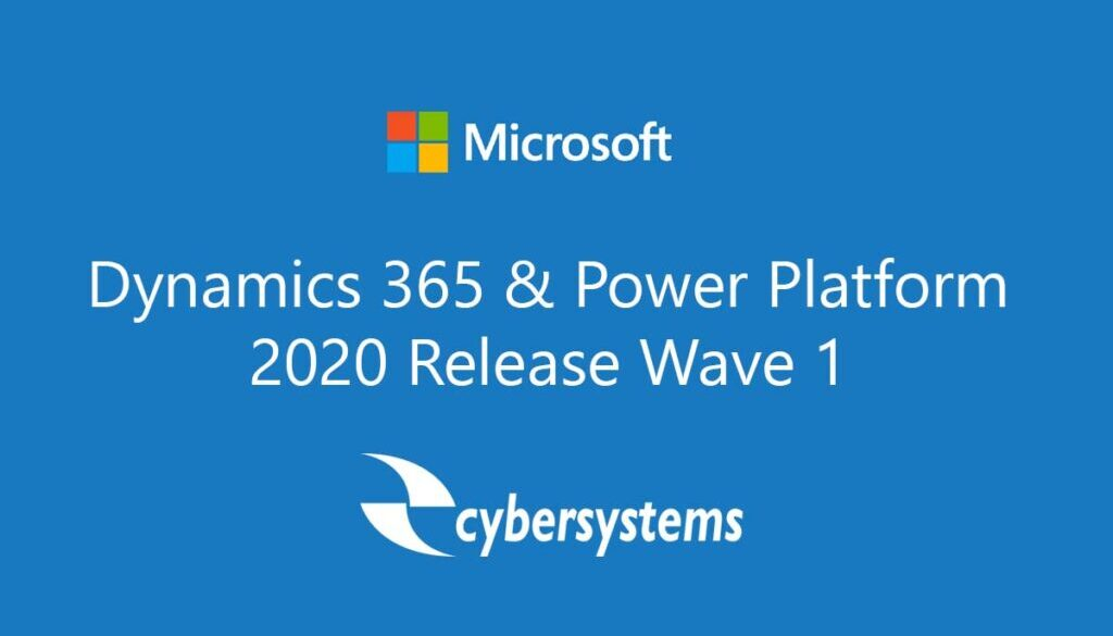 Microsoft Release Wave 1 2020