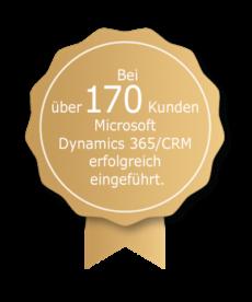 Auszeichnung 170 Kunden